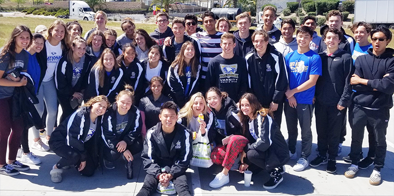SMCHS Shines at the 10th Annual California Catholic High School Swim Invitational
