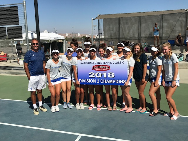 Girls Tennis Claims Championship in Fresno