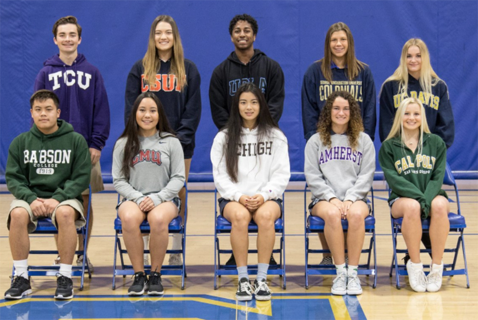 10 Eagle Student-Athletes Commit on NCAA Signing Day