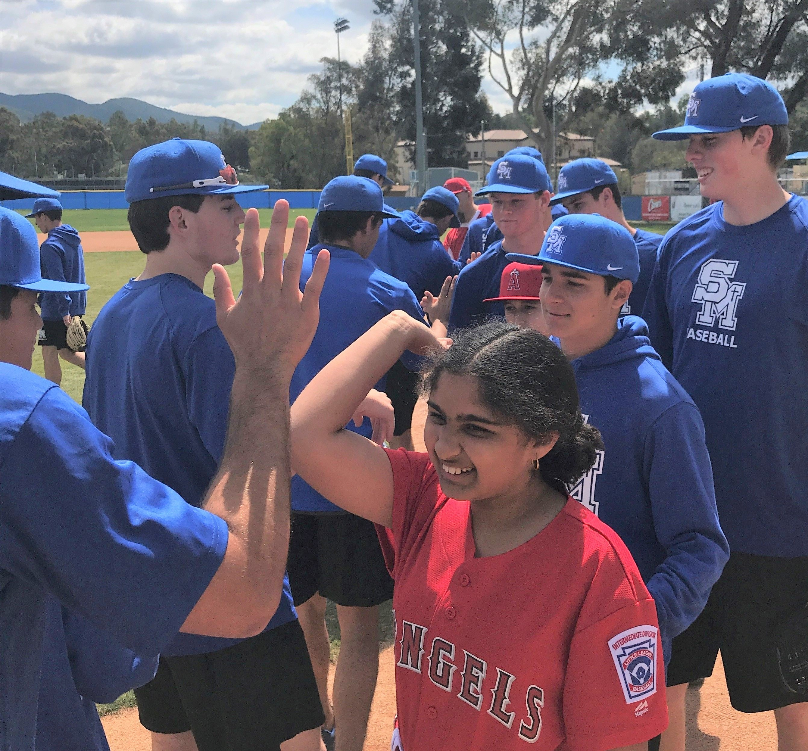 Eagles Baseball Hosts Little League's Challenger Division