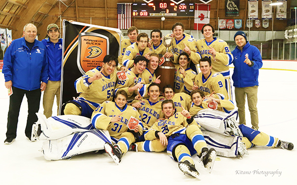 Eagles Ice Hockey Are ADHSHL Division 1 Champs