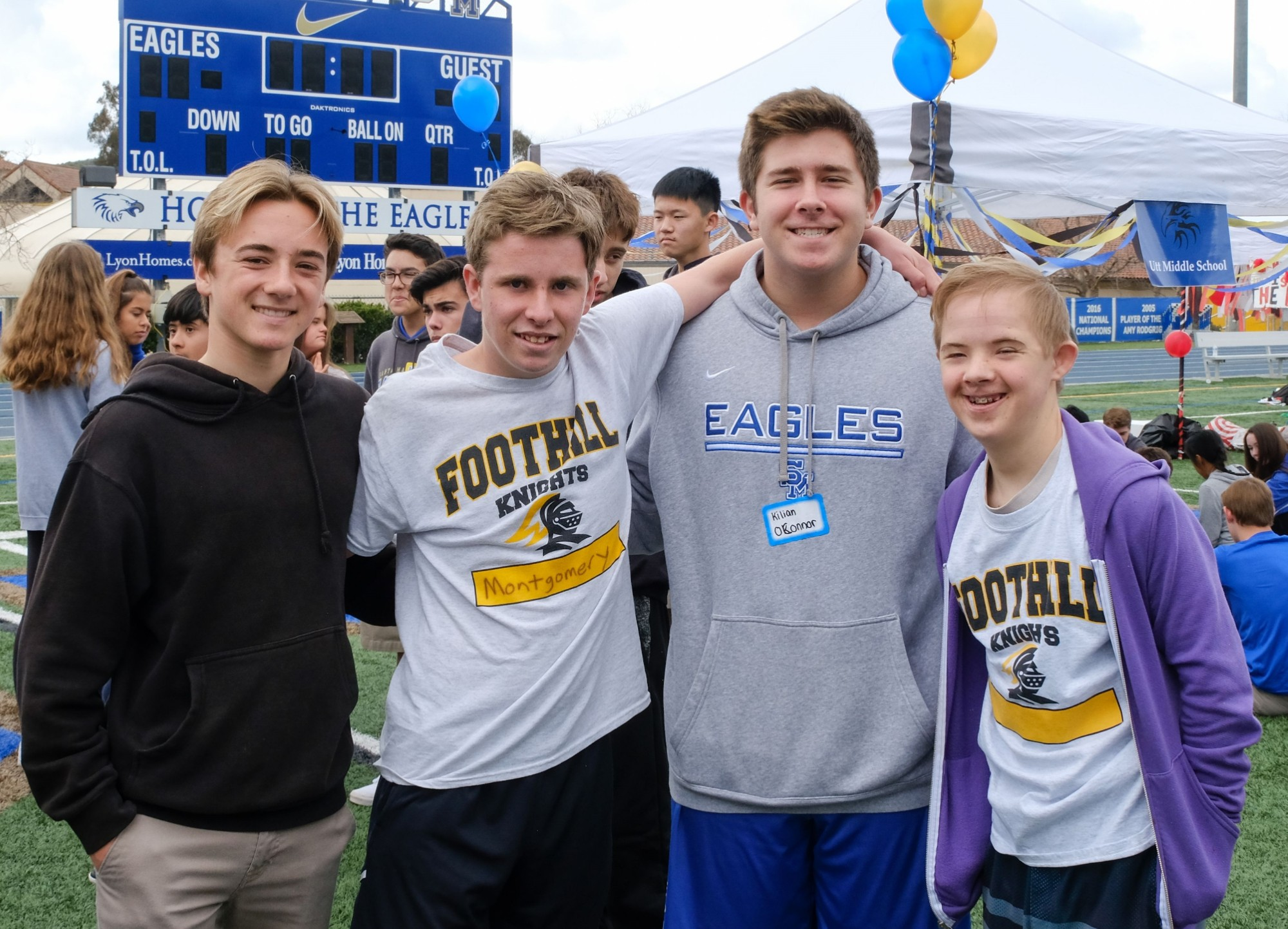 Special Olympics Provides Opportunity for Students to Exercise Christian Hospitality