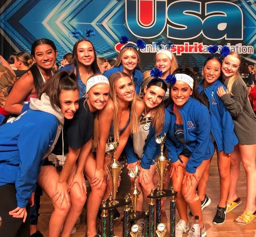 Dance Team Achieves Success at USA Nationals!