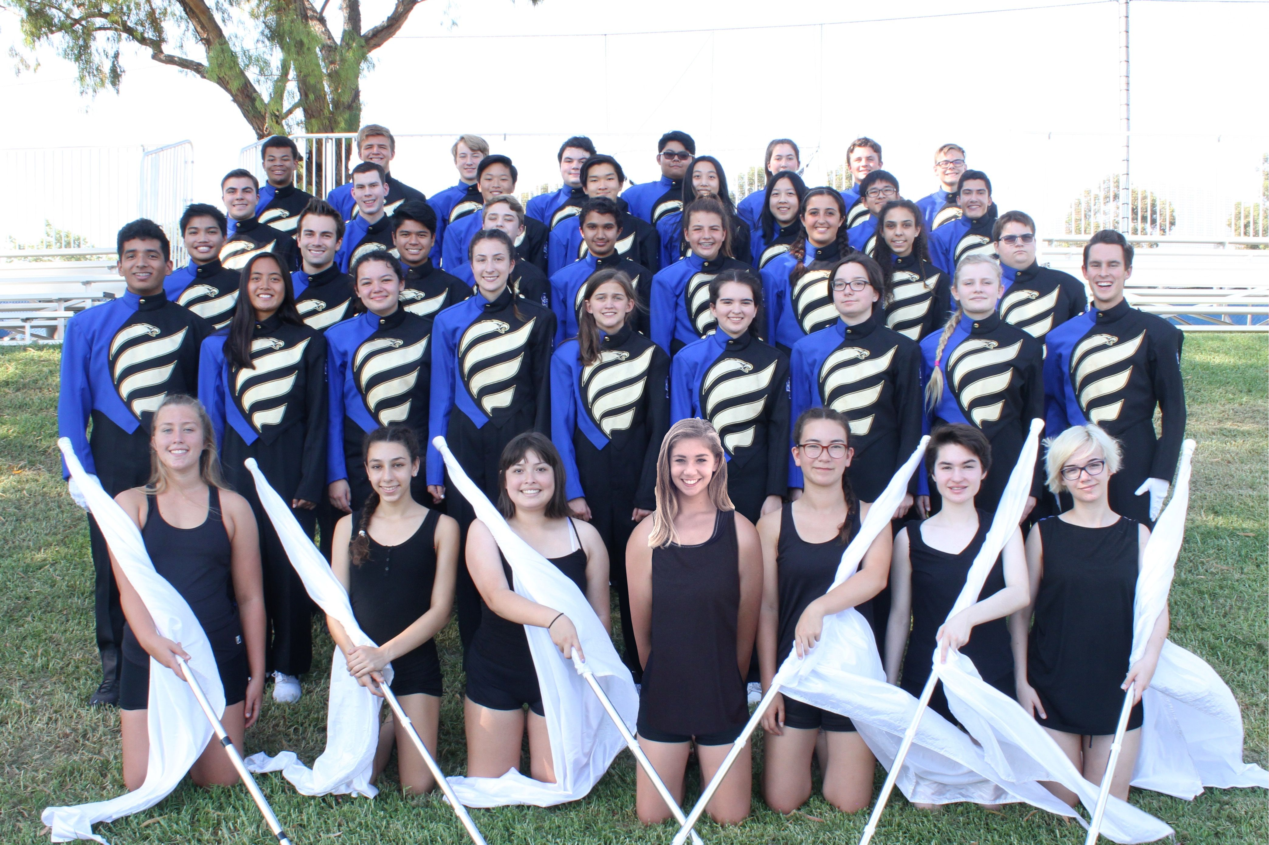 Eagle Regiment Marching Band and Color Guard Take First at Aliso Viejo Competition