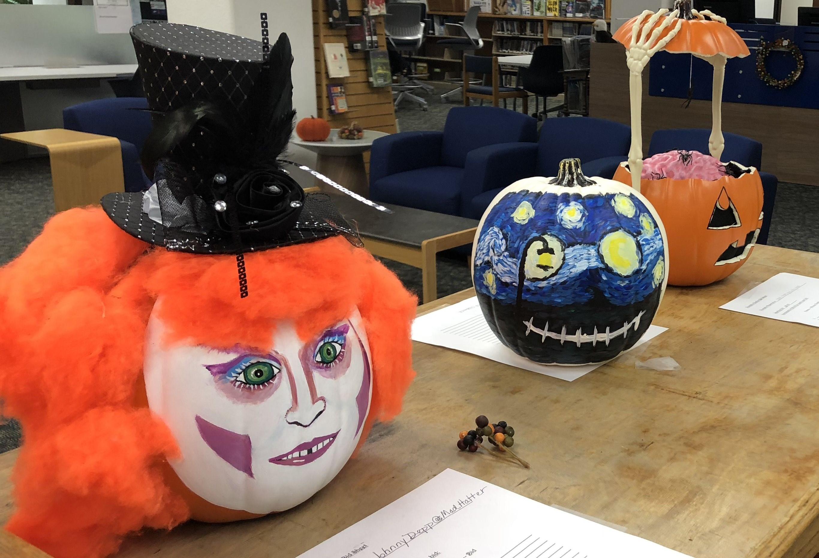 Painted Pumpkin Contest Begins New Halloween Tradition On Campus Campus News Santa Margarita Catholic High School